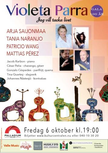Violeta 100 affisch Palladium