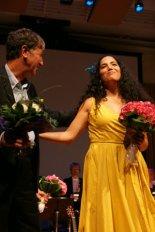 Tania and composer Jorge Arriagada