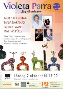 Violeta 100 affisch Musikaliska 1